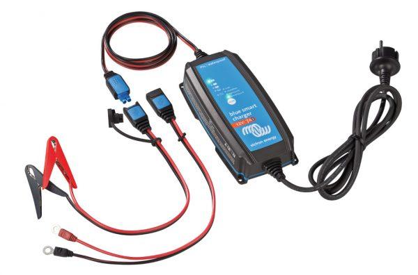 BlueSmart IP65 12V 7A akumuliatorių įkroviklis