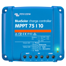 BlueSolar MPPT 75/10 saulės įkrovimo valdiklis