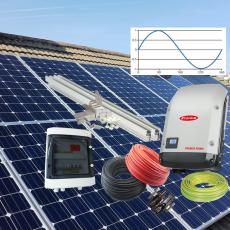 Vienfazės saulės elektrinės