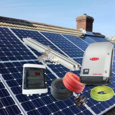 Saulės elektrinės su dvipuse apskaita