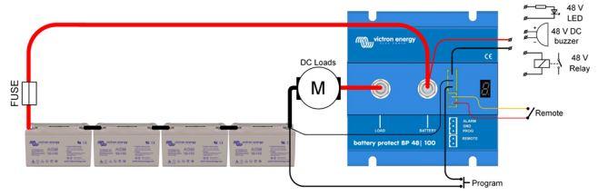 Victron BatteryProtect 48V 100A